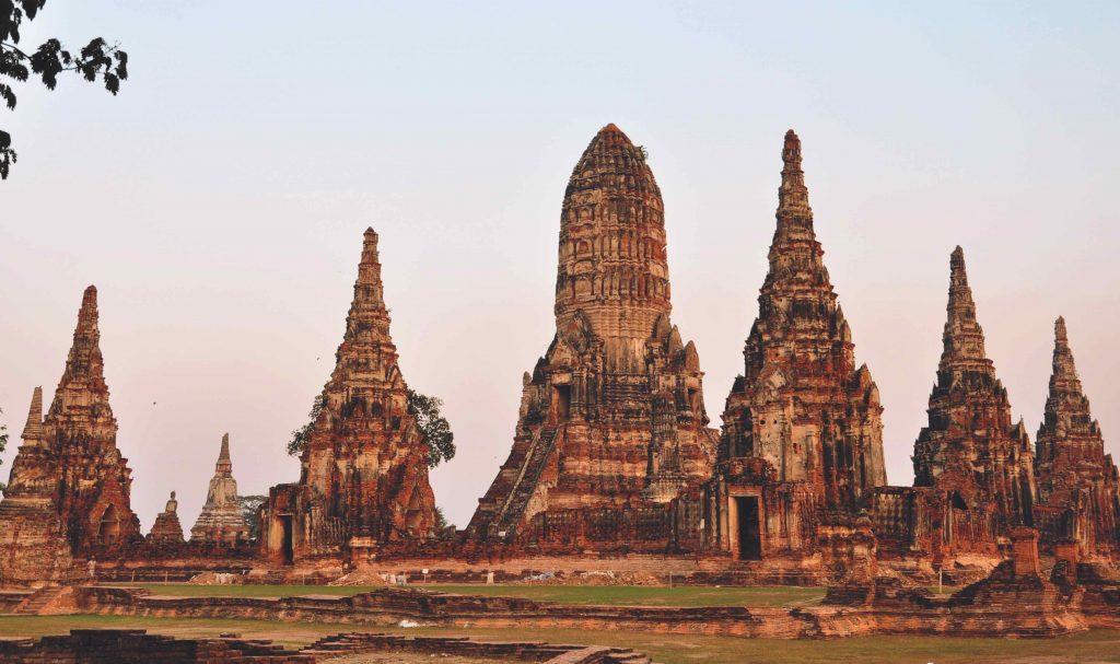 rovine di ayutthaya