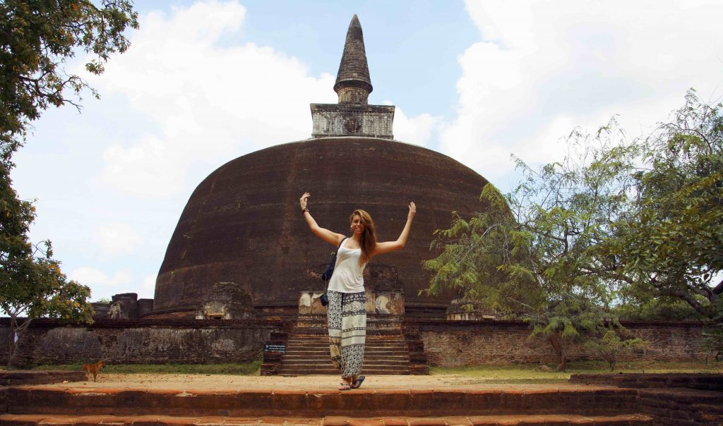 Polonnaruwa parco