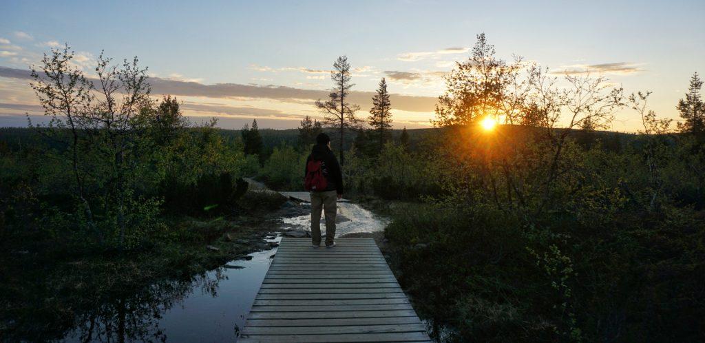 finlandia lapponia sole