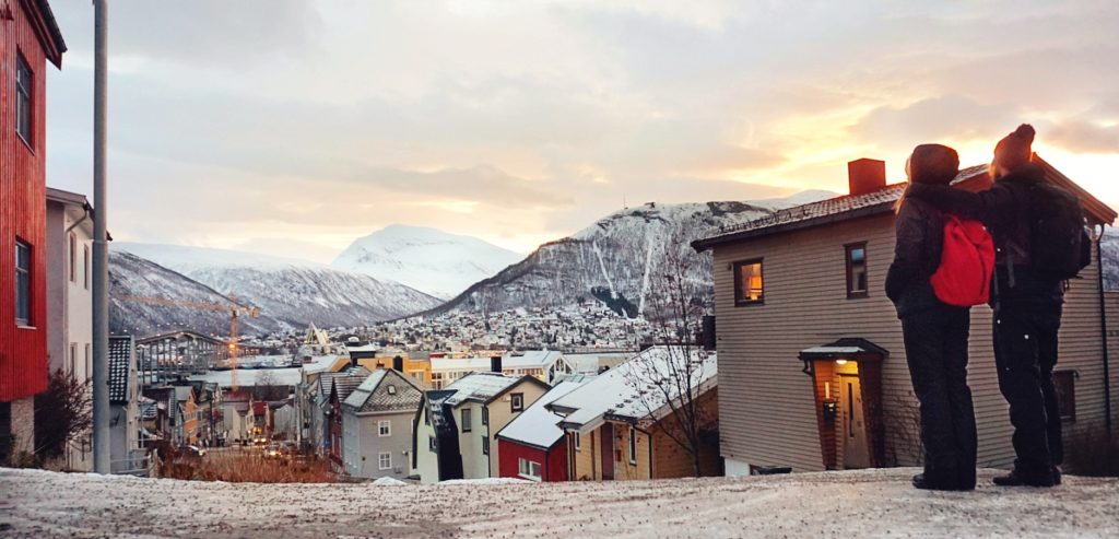 Aurora Boreale In Norvegia Tromso Coast To Costans