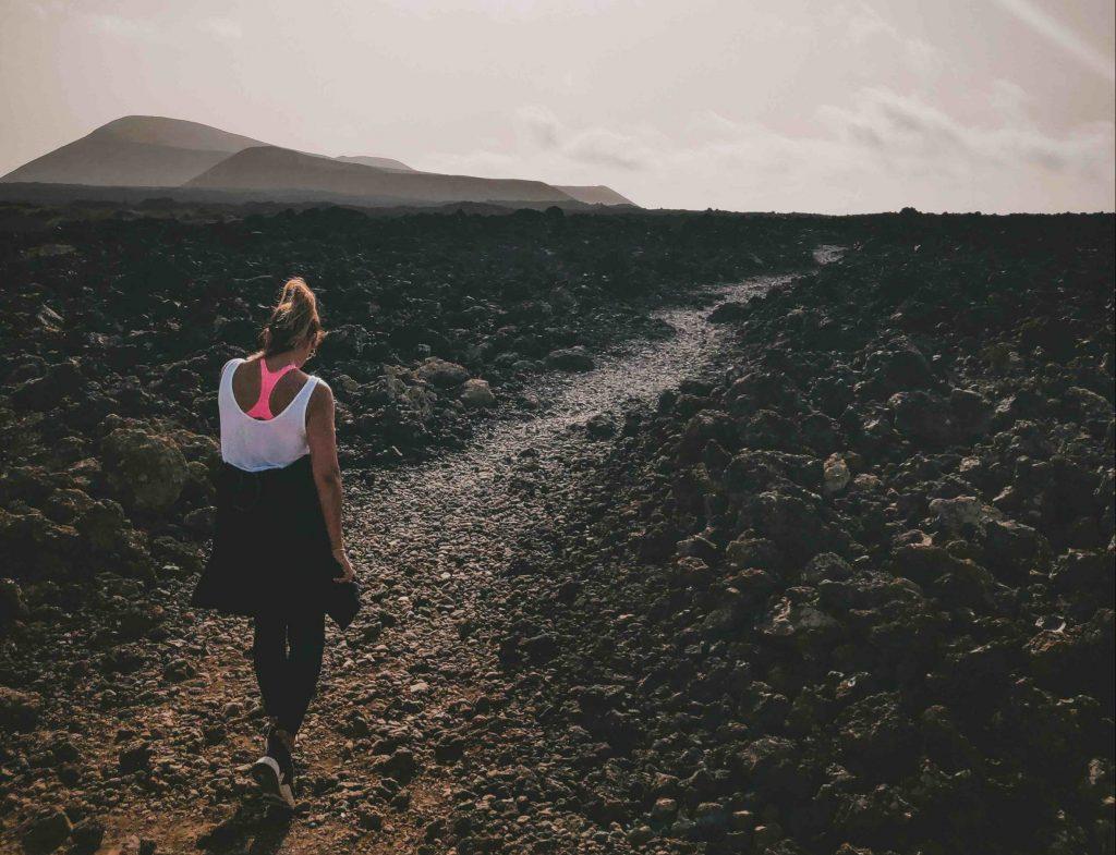 trekking a Lanzarote